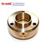 Peças de bronze do CNC da máquina do fio EDM do CNC