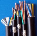 Изолированный PVC проводника Kvvr медный и обшил гибкий кабель системы управления