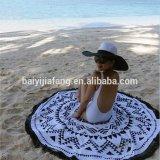 Be02によって印刷されるトルコの円形のビーチタオルの円形のアズテック派のビーチタオル
