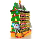 2 Regal-Knall-Pappfußboden-Bildschirmanzeige für Weihnachtsförderung