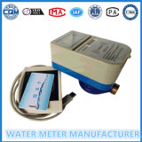 RF/IC Karten-intelligenter frankierter Typ Wasserstrom-Messinstrument