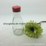 プラスチックふたの食品等級150mlの小さい醤油または酢の料理油のガラスビン