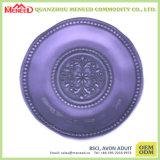 De cerámica como BPA irrompible liberar la placa de postre plástica de la melamina