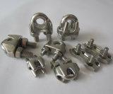 Clip de câble métallique d'acier inoxydable