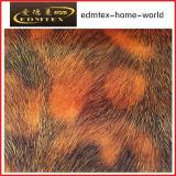 Животная ткань бархата печати картины для одежды способа (EDM5089)