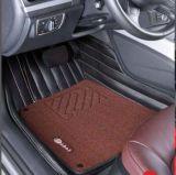 Esteira 3D do carro do Leatherette em 5-Layer com a almofada elevada da fibra de Elastic/PP