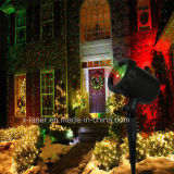 2017 luzes ao ar livre da decoração do Natal do tempo do feriado do jardim da luz da paisagem do diodo emissor de luz do laser do floco de neve