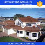 砂によって塗られる金属の屋根瓦の重量は通常のタイルの1/8である