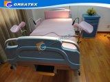 China-Fabrik-Verkauf Linak Bewegungssteuerldr-Raum verwendetes Krankenhaus Gyn Bett