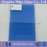 Bronzo, verde, lastra di vetro riflettente tinta blu (4mm 5mm 6mm)