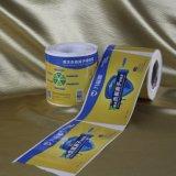 Autoadesivi adesivi del vinile di colori completi su un rullo