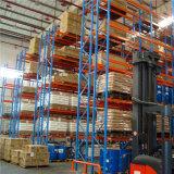 Cremagliera selettiva del metallo del magazzino con il comitato della rete metallica