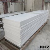 Hoja superficial sólida de acrílico blanca pura de piedra artificial