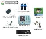 El Portable trabaja a máquina 4 el equipo de la terapia del canal Tens/EMS