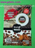 側面のヒートシールのプラスチックアルミニウムジップロック式のコーヒー食品包装袋