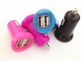 最も新しいDC 12V-24Vの出力3.4A入力USBの携帯電話車の充電器