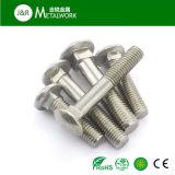 Болт с квадратным подголовком DIN603 нержавеющей стали Ss304 Ss316 316L A2-70 A4-70 A4-80
