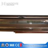 Раздвижная дверь входа двойника изготовления фабрики Китая стеклянная алюминиевая