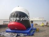 Glissière de bateau pirate gonflable pour parc d'attractions
