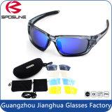 可変性レンズのサングラスとのマルチ機能普及したパソコンフレームの物質的なスポーツ日曜日Eyewearはセットした