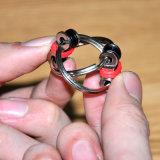 El nuevo hilandero de la mano del anillo dominante del acero inoxidable del encadenamiento de la bici del juguete de la persona agitada del diseño/releva el juguete de la tensión