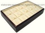 [رتنغل] خشبيّة مجوهرات عرض صينيّة بيع بالجملة صينيّة خشبيّة
