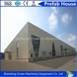 Edificio prefabricado de la estructura de acero del palmo enorme del bajo costo para el taller Carparking del almacén de la protección del medio ambiente