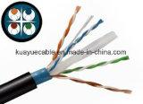 Кабель сети Cm/Cmr Lancable Utpcat6/кабель компьютера/кабель данных/кабель связи/тональнозвуковые кабель/разъем