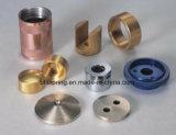 Pieza que trabaja a máquina de pulido del CNC de las piezas del acero de cobre amarillo/de aluminio
