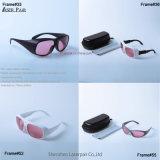 Atd con transmitencia protectora el 45% de cuatro la alta de laser del marco 740-850nm gafas de seguridad de Laserpair