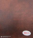 Abrasion Resistant PU Revestimento de couro para sofá Mobília (800 #)