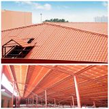 De lange Tegel van het Dak van het Dak Tile/PVC van de Hars van de Spanwijdte Synthetische Spaanse/Koninklijke Stijl