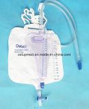 Sac de collecte d'hôpital avec tube de cathéter de 120 cm