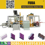 Automatische konkrete blockierenQt4-18 Ziegeleimaschine Uganda