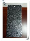 Grano d'argento decorativo sui rivestimenti Thermoset neri della polvere