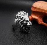 De stijl van de Kampioen van het Roestvrij staal van de Ring van de Koning van de Leeuw Mannelijke