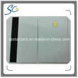 Tarjeta del IC del contacto de la tarjeta inteligente de la tira magnética