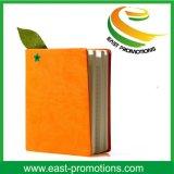 Cuaderno barato del Hardcover con insignia de la marca de fábrica
