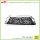 現代台所使用のハンドルが付いている習慣によって印刷されるメラミン皿