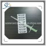 Lf RFIDのスポイトが付いている動物のガラスマイクロチップの札