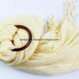 100% acrílico sólido teñido de bufanda (ABF2100036)