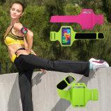 Heißer Verkaufs-Form ultradünner Lycra Sport-laufende Armbinde mit elastischem Band