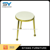 Móveis para sala de jantar Three Legs Metal Marble Top End Table