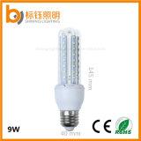 Bombilla ligera ahorro de energía de la cubierta de las lámparas E27 del proyector de los bulbos del maíz 9W de la lámpara AC85-265V del LED