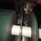 Свяжите машину тесьмой бумажного крена ярлыков пленки разрезая