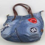 Sac à main de jeans de femmes, sacs de toile, accessoire de mode occasionnel de sac de coton