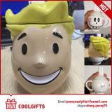 Caneca de café cerâmica do projeto relativo à promoção do personagem de banda desenhada (CG217)