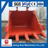 Cubeta da rocha da máquina escavadora de Doosan Dx300 1.4cbm