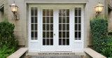 Puertas de lujo de aluminio diseño comercial de cristal doble de las puertas francesas del nuevo