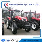 農業機械90HP 4WDの農場トラクター